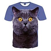Hombre Deportes Estampado - Camiseta Estampado Animal