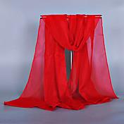 Mujer Todas las Temporadas Vintage Bonito Casual Raso Rectángulo,Sólido Rojo Rosa Wine Azul Real Sandía