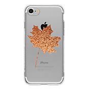 Para Funda iPhone 7 / Funda iPhone 7 Plus / Funda iPhone 6 Diseños Funda Cubierta Trasera Funda Paisaje Suave TPU AppleiPhone 7 Plus /