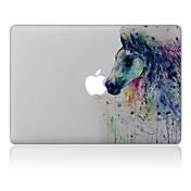 1 pieza Anti-Arañazos Pintura de óleo De Plástico Transparente Adhesivo Diseño ParaMacBook Pro 15'' with Retina MacBook Pro 15 '' MacBook