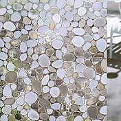 幾何学模様 コンテンポラリー ウィンドウフィルム, PVC /ビニール 材料 窓の飾り ダイニングルーム ベッドルーム オフィス キッズルーム リビングルーム バスルーム ショップ/カフェ キッチン