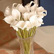 1つの枝多色他の花輪の壁の花人工花