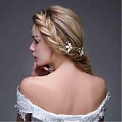 Legierung Bandas de cabeza Peinetas Flores Pasador de Pelo Palillo del pelo Herramienta para el Cabello Celada