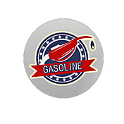 Patrón Gasolina decorativo etiqueta engomada del coche