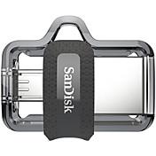 SanDisk 16GB USBフラッシュドライブ USBディスク USB 3.0 マイクロUSB プラスチック