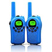 walkie talkies para niños de 22 canales y duradera (hasta hasta 5 km en áreas abiertas) de colores walkie talkies para los niños (1 par)