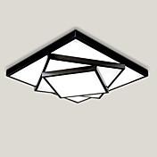 52センチメートル幾何学模様のデザインモダンなスタイルのLED天井ランプ金属フラッシュマウントリビングルームの寝室