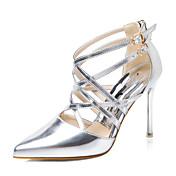 Mujer Zapatos PU Primavera Verano Otoño Invierno Zapatos con luz Tacones Tacón Stiletto Dedo Puntiagudo Para Boda Casual Vestido Fiesta y