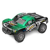 RCカー WL Toys 12403 2.4G 車載 オフロードカー ハイスピード 4WD ドリフトカー バギー 1:12 ブラシ電気 45 KM / H リモートコントロール 充電式 エレクトリック