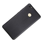 のために 耐衝撃 ケース バックカバー ケース ソリッドカラー ソフト カーボンファイバー のために XiaomiXiaomi Mi Max Xiaomi Redmi 3 Xiaomi Redmi Note 3 Xiaomi Redmi Note 4 Xiaomi Mi 5