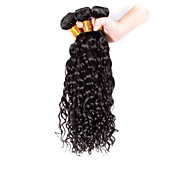 Tejidos Humanos Cabello Cabello Brasileño Rizado 3 Piezas los tejidos de pelo