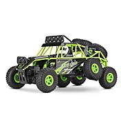 RCカー WL Toys 18628 2.4G ロッククライミングカー オフロードカー ハイスピード 4WD ドリフトカー バギー 1:18 ブラシ電気 10 KM / H リモートコントロール 充電式 エレクトリック
