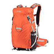 35 L バックパッキング用バックパック カメラバッグ サイクリングバックパック 登山 サイクリング/バイク キャンピング&ハイキング 旅行 防水 防雨 耐久性 多機能の ナイロン メッシュ OSEAGLE