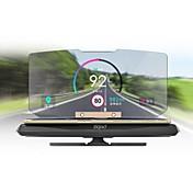 ziqiao soporte de navegación GPS móvil cabezal universal HUD arriba la visualización de un coche teléfono inteligente soporte del montaje
