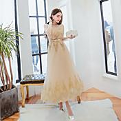 イブニングドレス2016新しいトーストマスターズは、花嫁介添人ドレストースト服春スリムドレス本物のショットドレス
