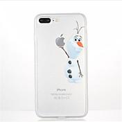 のために パターン ケース バックカバー ケース カトゥーン ソフト TPU のために Apple iPhone 7プラス iPhone 7 iPhone 6s Plus iPhone 6 Plus iPhone 6s iphone 6