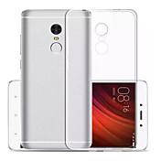 のために 超薄型 クリア ケース バックカバー ケース ソリッドカラー ソフト TPU のために Xiaomi Xiaomi Redmi Note 4X