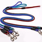 correa de perro deslizante plomo ajustable / retráctil rojo azul verde oscuro
