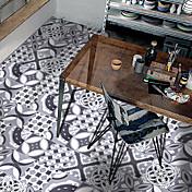 Estilo europeo patrón decorativo el azulejo de cerámica que pega el pvc decorativo auto-palillo a prueba de agua del dormitorio y de la