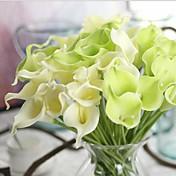 10 Rama Toque real Lirios Flor de Mesa Flores Artificiales