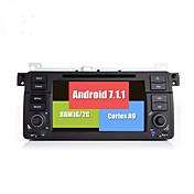 Bonroad android 7.1.1 quad core 1024 600 reproductor de DVD de coches de vídeo para e46 / m3 / mg / zt / rover 75/320/318/325 radio rds