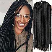 Rastas Trenzas de cabello Trenzas crochet la Habana 35cm 45cm Rastas crochet sintéticas Extensiones de Dreadlock Rastas falsas Cabello