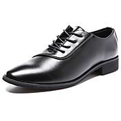 メンズ 靴 繊維 夏 秋 コンフォートシューズ オックスフォードシューズ ウォーキング 編み上げ 用途 カジュアル ブラック ライトブラウン