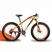 マウンテンバイク ファットバイク サイクリング 21スピード 26 inch/700CC 40 mm SHIMANO 30 オイルディスクブレーキ スプリンガーフォーク ハードテールフレーム