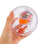 手遊びおもちゃ ボール バスケットボールのおもちゃ ストレス解消グッズ おもちゃ 円形 バスケットボール スポーツ 指定されていません 1 小品