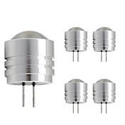 1W LED-lamper med G-sokkel T 1 Højeffekts-LED 90 lm Varm hvid Kold hvid Jævnstrøm 12 V 1 stk. G4
