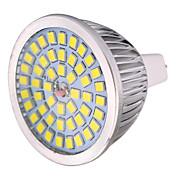 7W MR16 Lâmpadas de Foco de LED MR16 48 leds SMD 2835 Decorativa Branco Quente Branco Frio Branco Natural 600-700lm