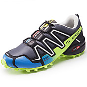 Hombre Zapatos PU Primavera Otoño Confort Zapatillas de Atletismo Paseo Con Cordón Para Casual Negro Gris Azul Real