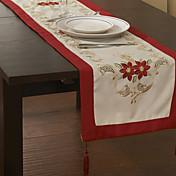 chritmas装飾のためのテーブルランナー高品質の新鮮なスタイル130 * 40