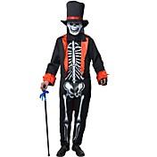 Troldmand/Heks Spøgelse Dragter Mand Halloween Jul Festival/Højtider Halloween Kostumer Patchwork