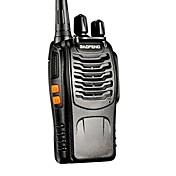 baofeng BF-888S FM UHF transceptor de alta iluminación linterna walkie talkie