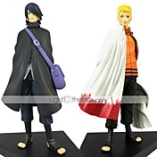 Las figuras de acción del anime Inspirado por Naruto Naruto Uzumaki PVC 18 CM Juegos de construcción muñeca de juguete