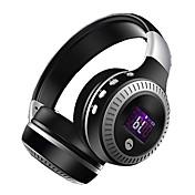 zealot b19 auriculares inalámbricos bluetooth lcd pantalla auricular bajo auriculares con micrófono fm radio micro-sd tf tarjeta de ranura