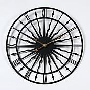 スポーツ 学校/卒業 友達 ボヘミアンテーマ ヴィンテージテーマ 壁時計,円形 屋内 クロック
