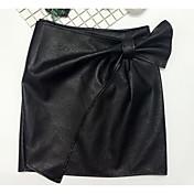 Mujer Sobre la Rodilla Faldas