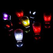 自転車用ライト 後部バイク光 安全ライト LED電球 LED - サイクリング 耐衝撃性 防水 警告 CR2032 50-70 ルーメン バッテリー レッド サイクリング-CoolChange