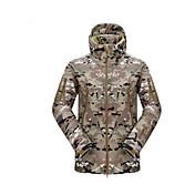 Chaqueta de caza impermeable Unisex Disparo Resistente a la lluvia Esquí Un Color Policía/Militar Chaquetas Shoftshell Mangas largas para