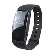 Reloj elegante Pantalla Táctil Monitor de Pulso Cardiaco Resistente al Agua Calorías Quemadas Podómetros Atención de Salud Standby Largo