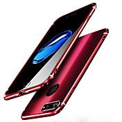 用途 iPhone 8 iPhone 8 Plus ケース カバー ミラー バックカバー ケース 純色 ハード 金属 のために Apple iPhone  8  Plus iPhone 8 iPhone 7プラス iPhone 7