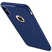 用途 iPhone X iPhone 8 iPhone 7 iPhone 7 Plus iPhone 6 ケース カバー つや消し バックカバー ケース 純色 ソフト シリコン のために Apple iPhone X iPhone 8 Plus iPhone 8