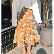Mujer Vintage Corte Sirena Faldas - Estampado