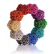 Juguetes Magnéticos Imanes magnéticos superfuertes Bolas magnéticas 216 Piezas 5mm Juguetes Metal Clásico Magnética Cuadrado Cumpleaños