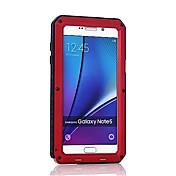 Funda Para Samsung Galaxy Nota 8 Note 5 Antigolpes Funda de Cuerpo Entero Armadura Dura Metal para Note 8 Note 5 Note 4 Note 3