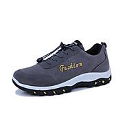 男性用 靴 ラバー 春 秋 コンフォートシューズ アスレチック・シューズ 編み上げ のために アウトドア ブラック グレー ブルー