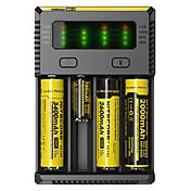 NEW-I4 Cargador de batería Linternas Accesorios Portátil Profesional Alta calidad Plástico para