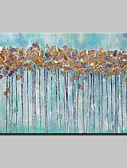 手描きの 抽象画 横式,抽象画 近代の 1個 キャンバス ハング塗装油絵 For ホームデコレーション